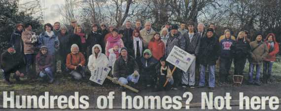 Sellers Farm Development Protest